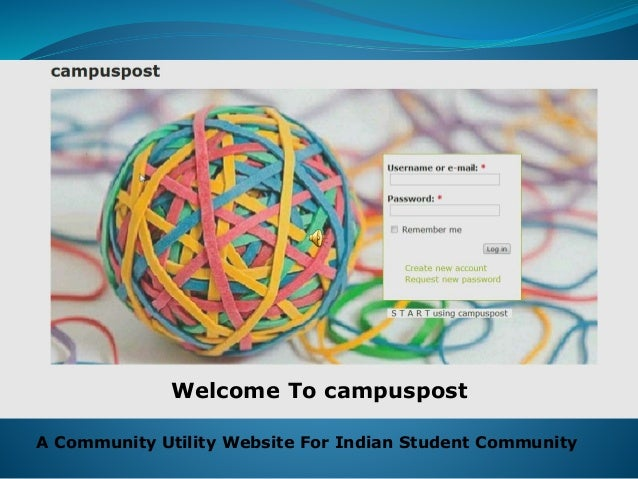 Welcome To campuspost A Community Utility Website For Indian Student Community