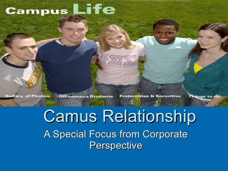 Camus Relationship A Special Focus from Corporate Perspective