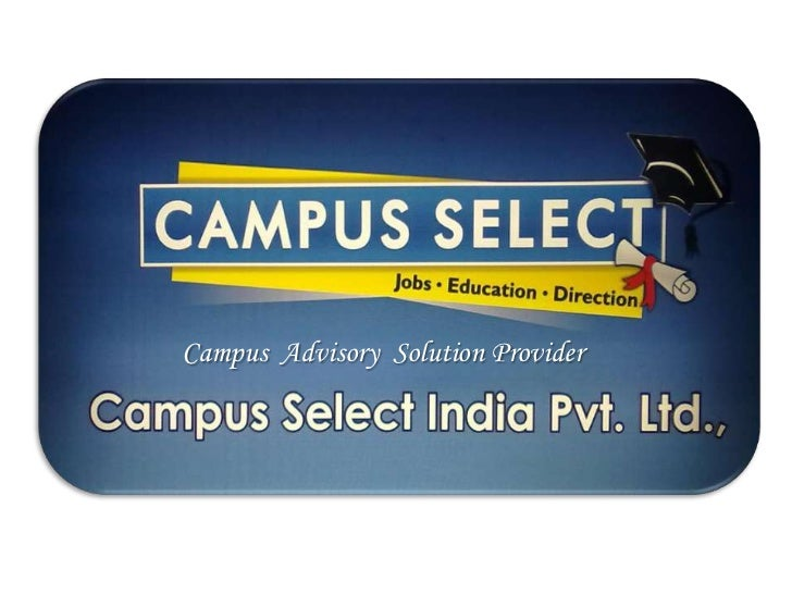 Campus Advisory Solution Provider
