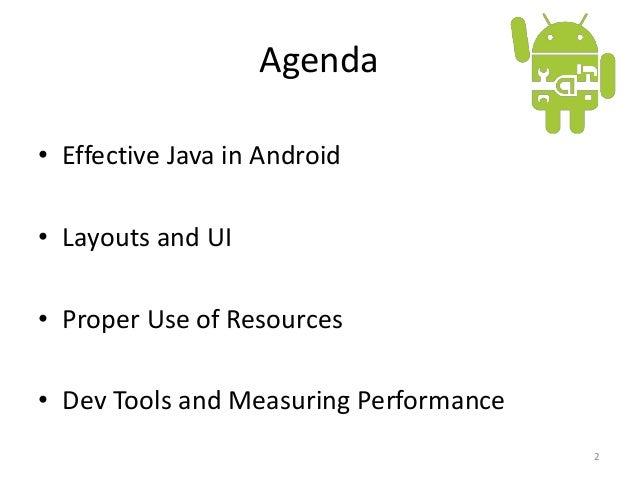 "Сергей Жук ""Android Performance Tips & Tricks"" Slide 2"