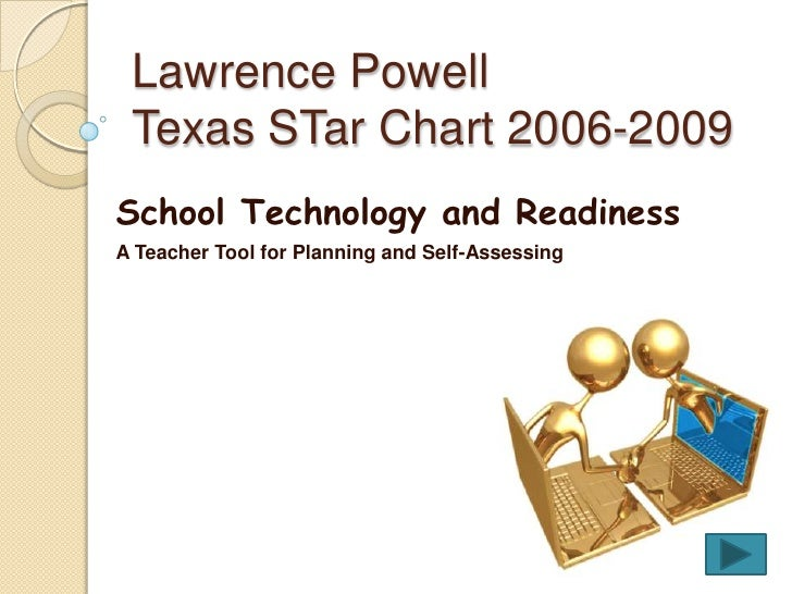 Lawrence PowellTexas STar Chart 2006-2009<br />School Technology and Readiness<br />A Teacher Tool for Planning and Self-A...