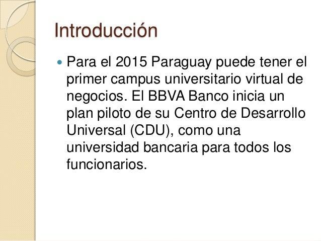 Campus universitario virtual enfocado a bancarios Slide 2