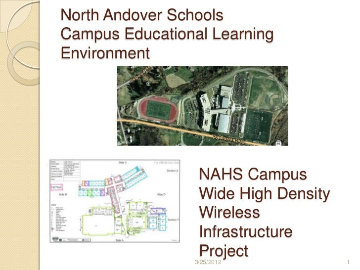 North Andover SchoolsCampus Educational LearningEnvironment                 NAHS Campus                 Wide High Density ...