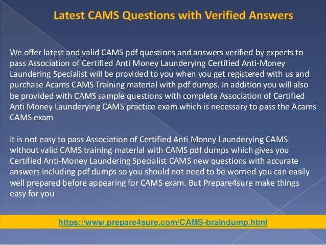 the best way to pass cams exam with real cams  dumps - get valid c…