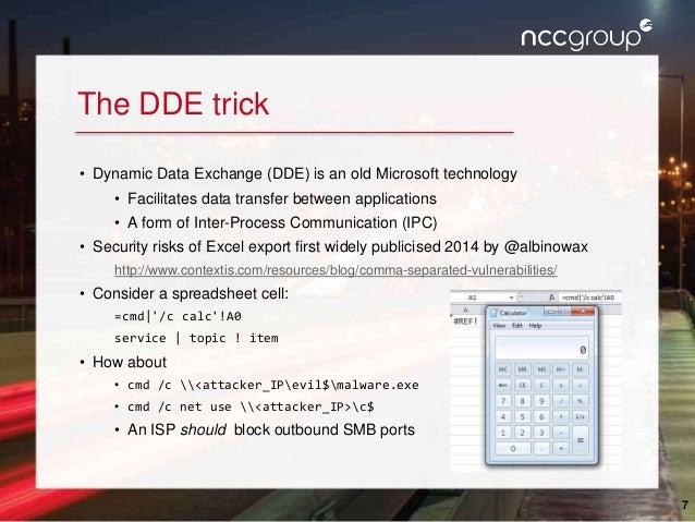 CamSec Sept 2016 - Tricks to improve web app excel export attacks