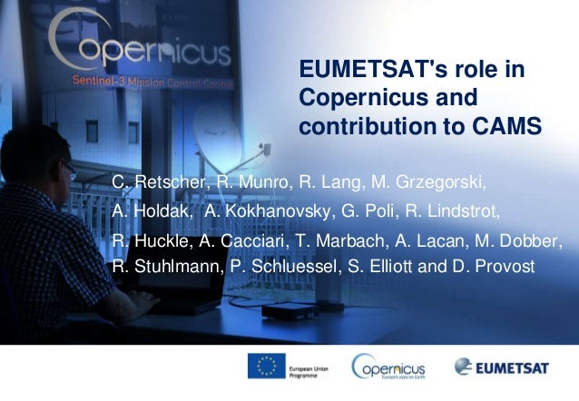 CAMS General Assembly EUMETSAT