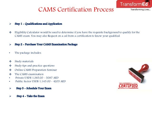 ACAMS Certification Training in Dubai-UAE | ACAMS