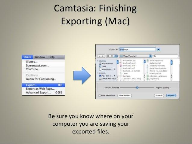 Camtasia (Mac) Version History – TechSmith Support
