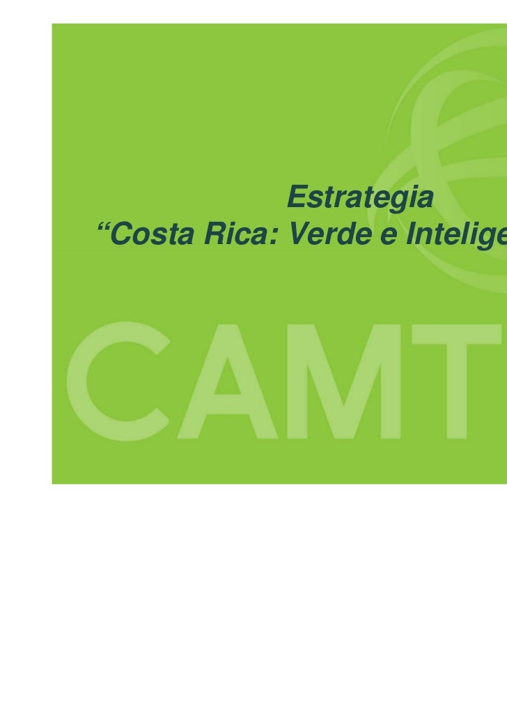 "Estrategia""Costa Rica: Verde e Inteligente 2.0"""