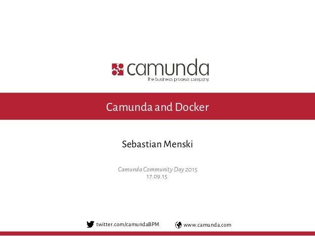 Camunda Docker