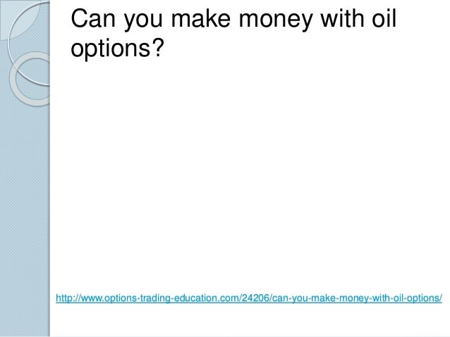 Can you make money options trading