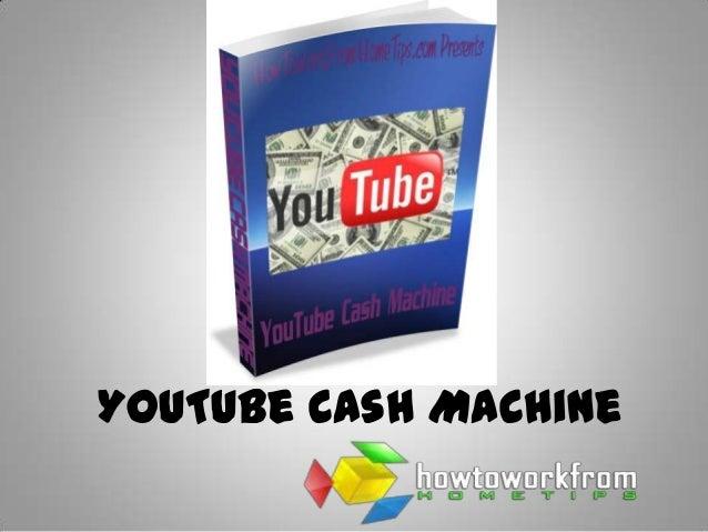 YouTube Cash Machine