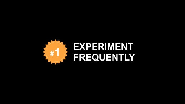 EXPERIMENT FREQUENTLY#1