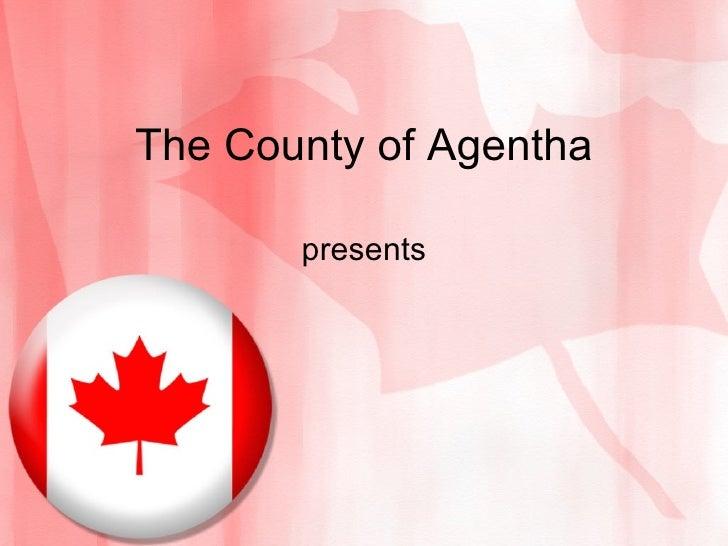 Canada Flag PowerPoint Presentation Template