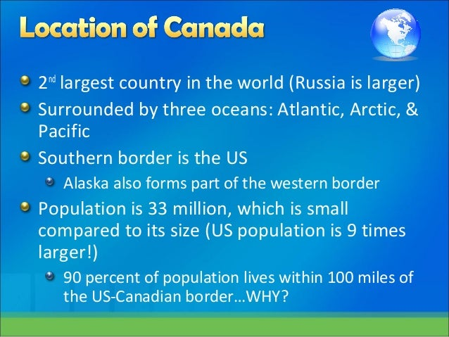 How Many Oceans Border Canada - Best Photos Of Border ...