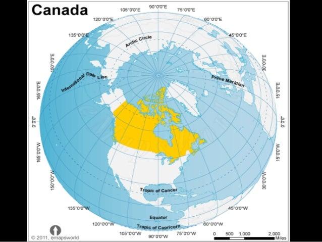 Canada Locationclimatenatural Resources Trading - Canada location