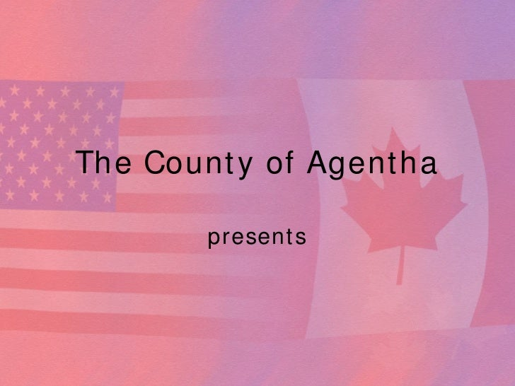 Canada Usa Powerpoint Template