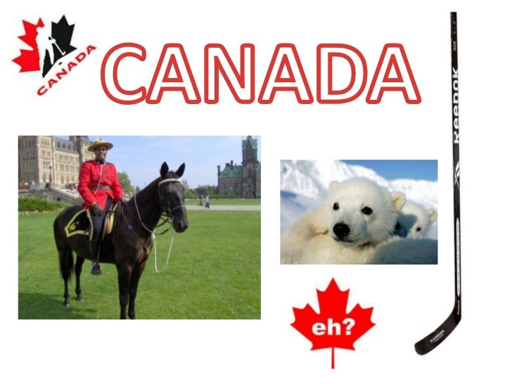 Canada is the 2nd biggest                            country in the world                              It has 10 provinces...