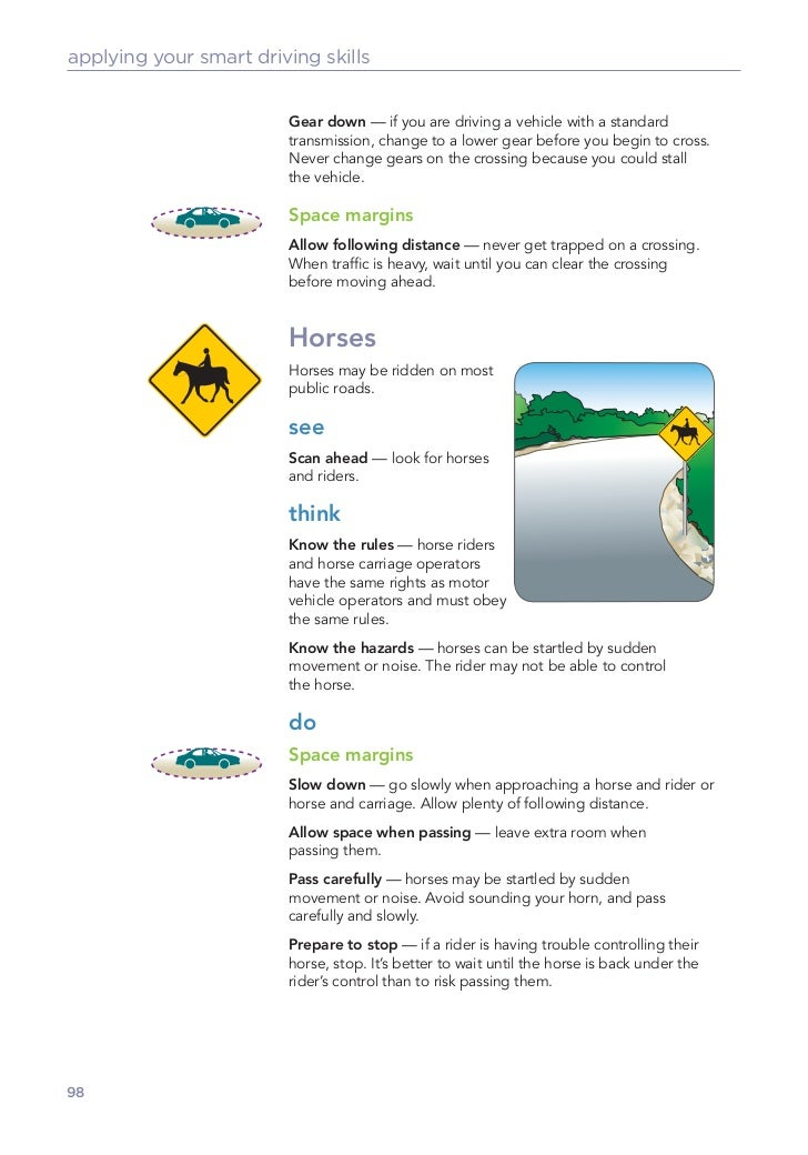 Canada driver's knowledge test 6