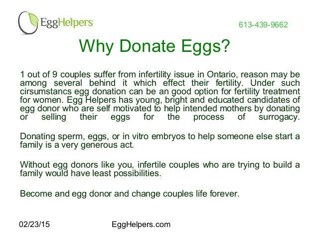 Canada Egg Donation