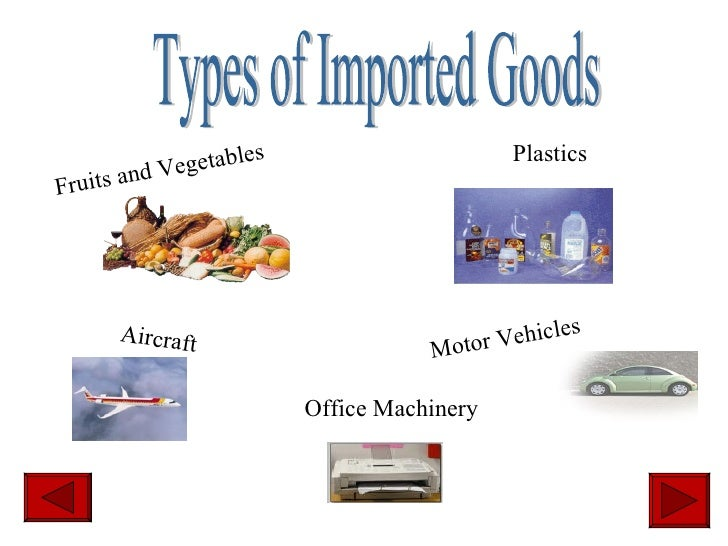 What Natural Resources Does Canada Import