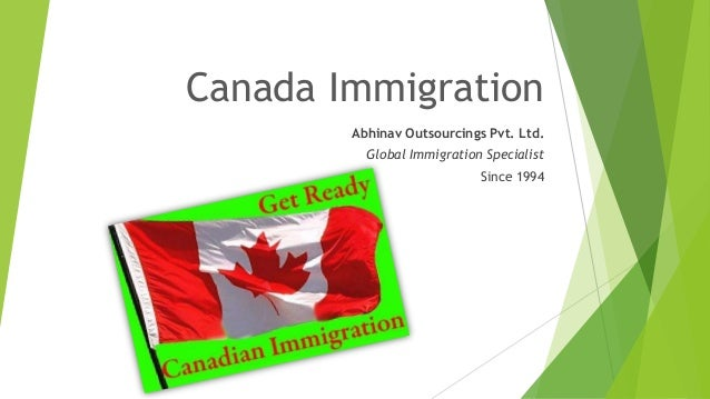 Canada Immigration Abhinav Outsourcings Pvt. Ltd. Global Immigration Specialist Since 1994