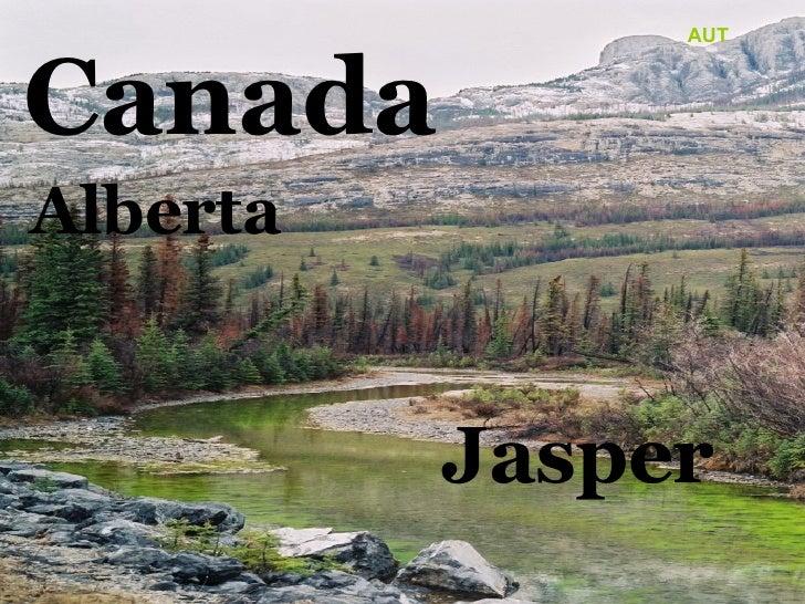 C anada Alberta Jasper AUT