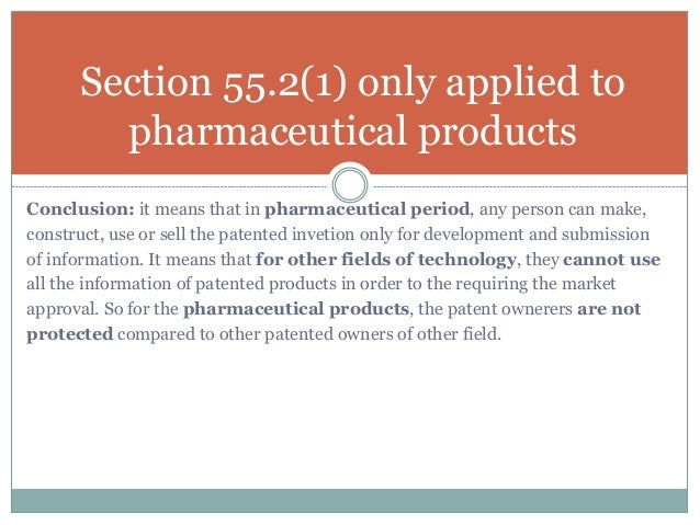 patent protection for pharmaceuticals in turkey Canada risks losing out on the next wave of lucrative pharmaceutical investment and jobs unless it matches tougher patent protection for drug makers in the us and.