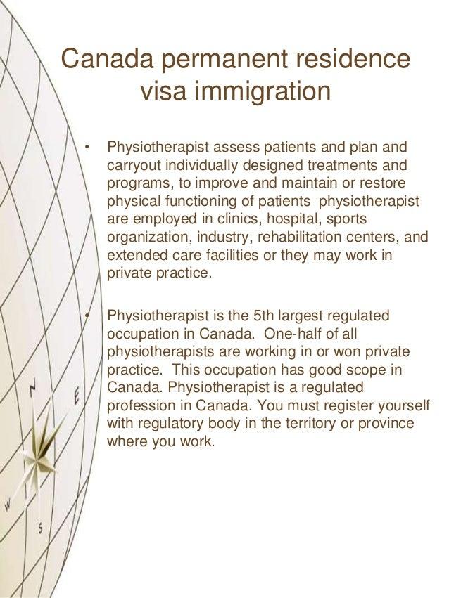 how to get canadian residency visa