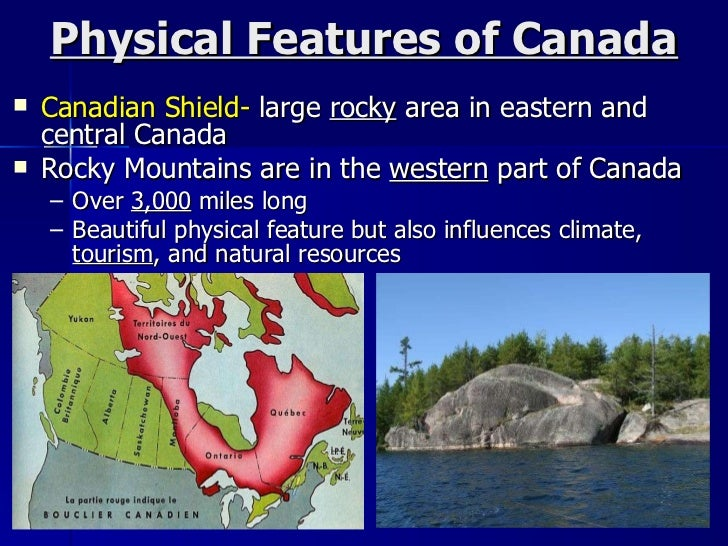 Canada physical features natural resources and climate 1011