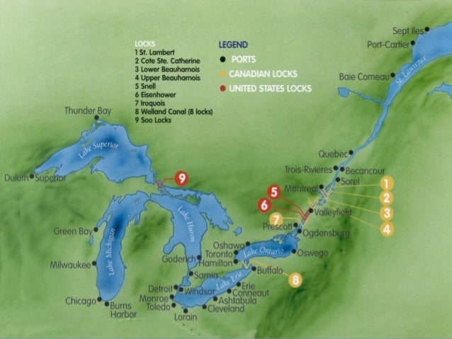 Canada Physical Features With Video Links - 8 physical features of the united states