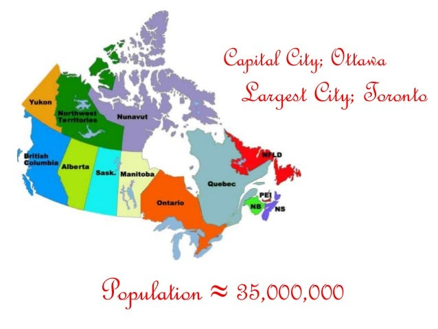 Maps Update 595524 Map of Canada with Cities and Capitals Map – Map of Canada with Capital Cities