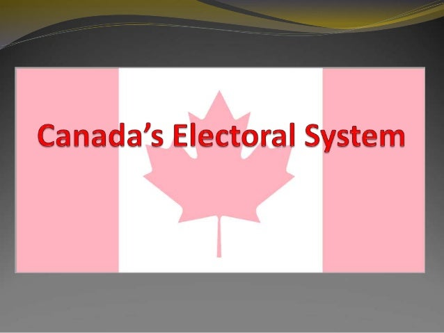 electoral reform canada essay Response to this trend will require more than short-term, small-scale reform  measures  chief electoral officer of canada explained the adjustment during  his.