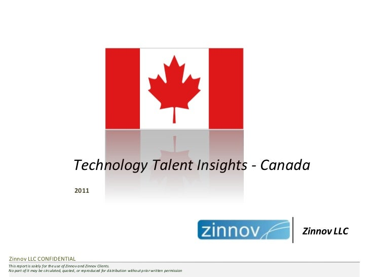 Technology Talent Insights - Canada                                       2011                                            ...
