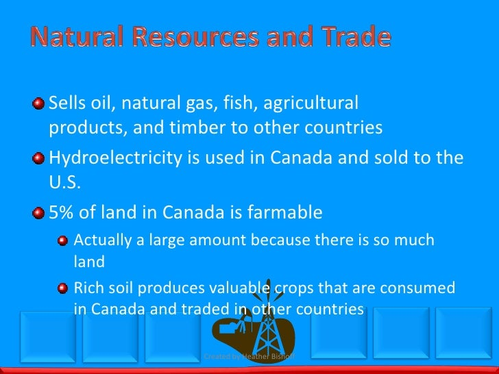 How Much Natural Resources Does Canada Have
