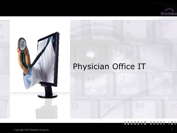 Physician Office IT