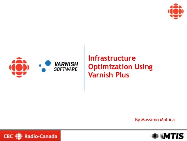 By Massimo Mollica Infrastructure Optimization Using Varnish Plus