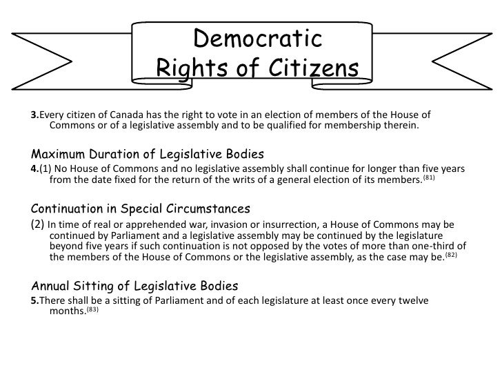 Section 2 of the Canadian Charter of Rights and Freedoms