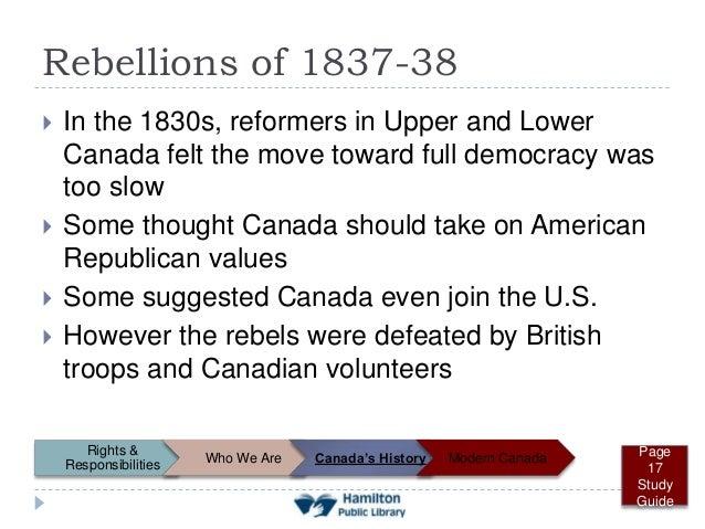 Rebellions of 1837–1838