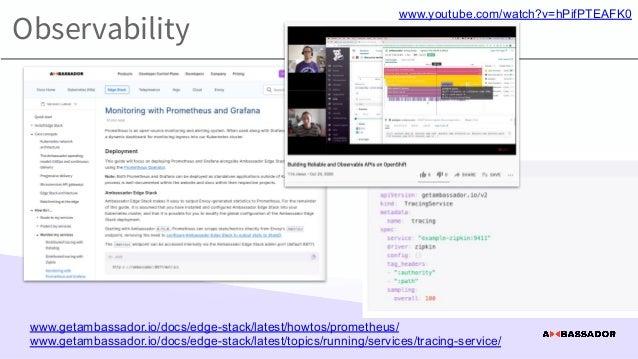 Observability and understandability www.youtube.com/watch?v=bdvxsEIhHcc a8r.io