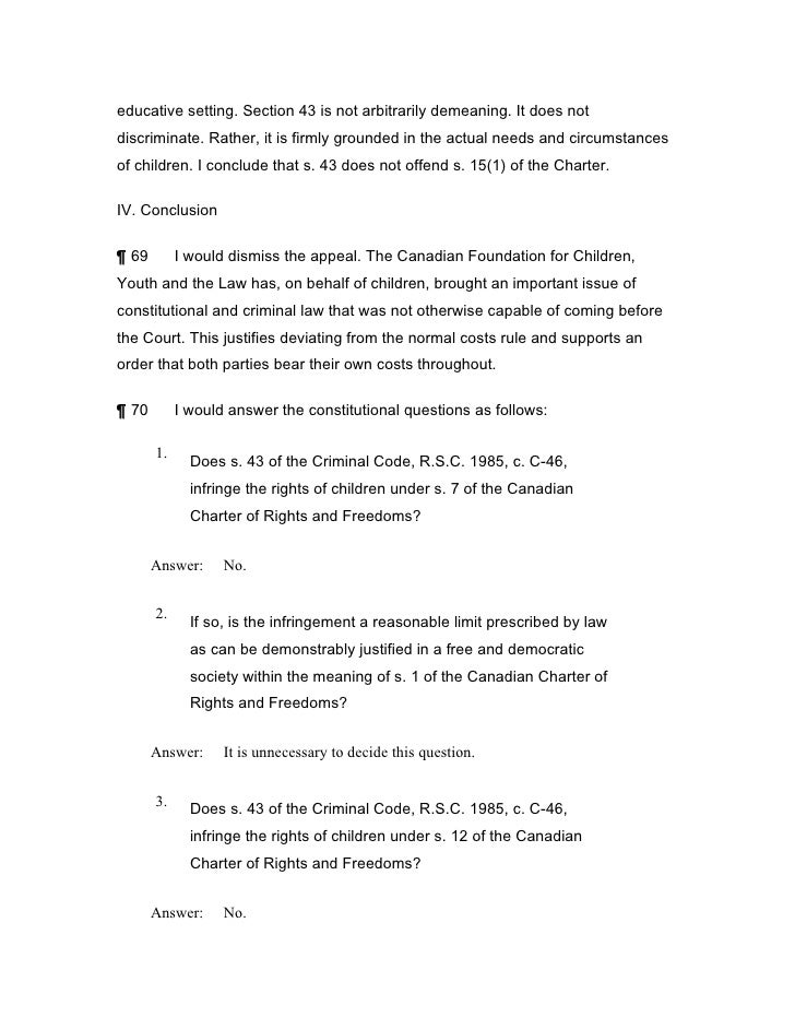 section 251 of the criminal code of canada