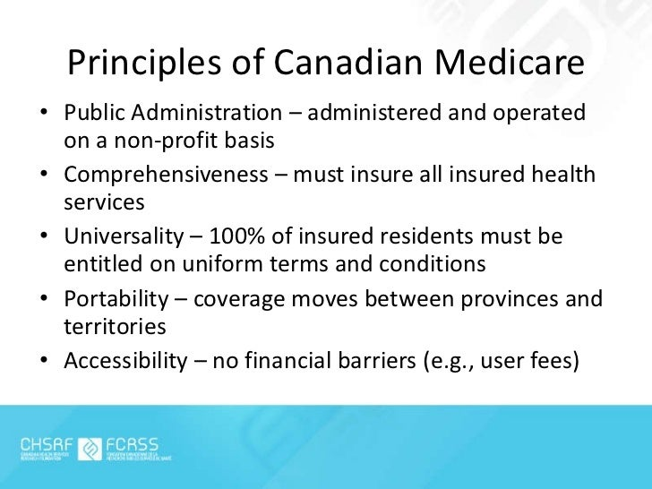 the undermining of the canada health act The canada health act (cha) (french: loi canadienne sur la santé) is a piece of government of canada legislation, adopted in 1984, which specifies the conditions and.