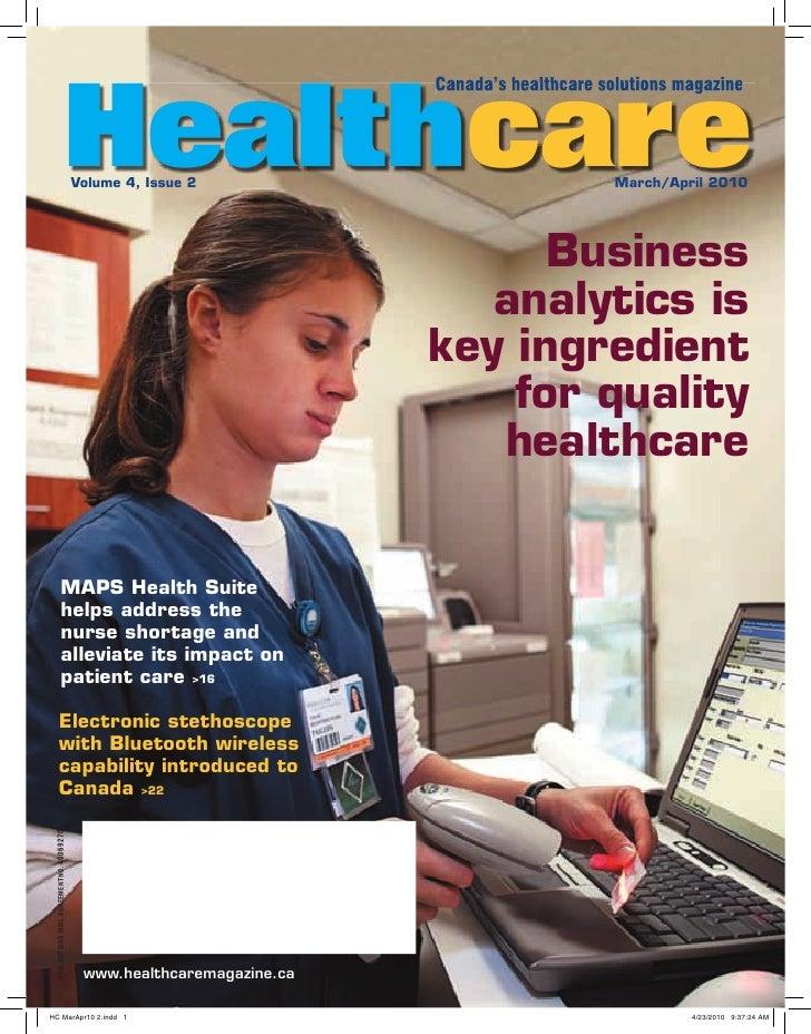 Canadian heathcare magazine Predictive Index Answers People Problem