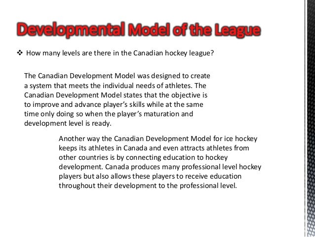Canadian Hockey League Structure