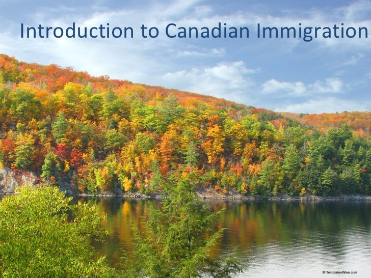 An introduction to the history of immigrants in canada