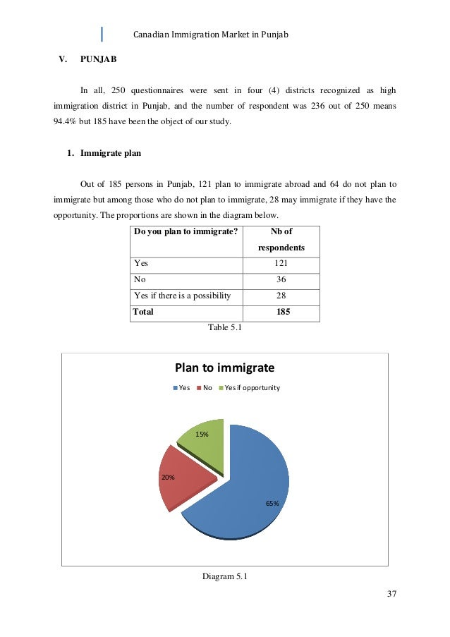 Canadian immigration market in punjab