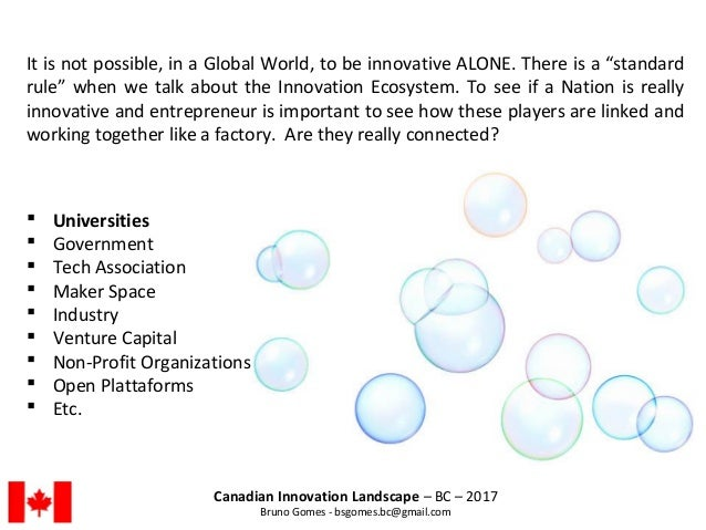 """It is not possible, in a Global World, to be innovative ALONE. There is a """"standard rule"""" when we talk about the Innovatio..."""