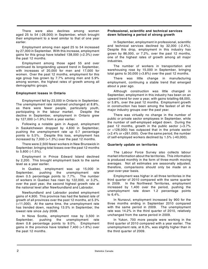 labour force survey essay The scottish government holds the labour force survey youth employment briefing papers can also be found on the briefing papers page and other labour market.