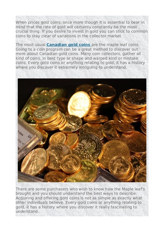 Canadian maple leaf gold coins for collecting and investing