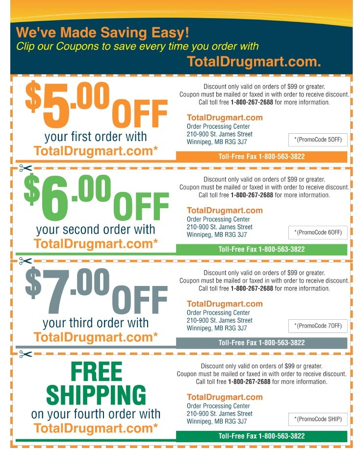 Canadian pharmacy discount coupons